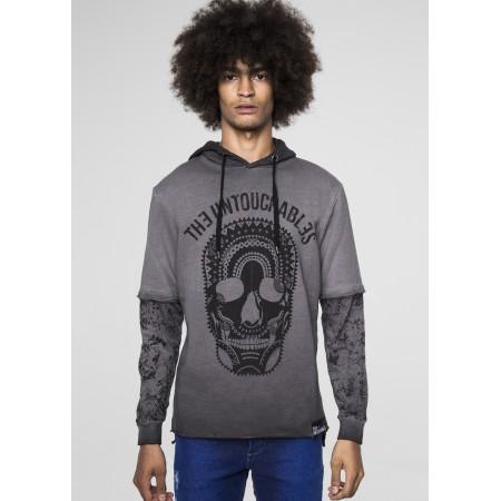 SWEAT CALACA GREY
