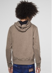 SWEAT SQUARE BROWN