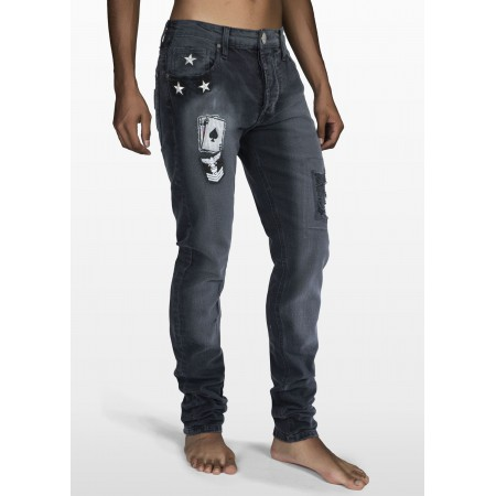 POKER SKINNY BLACK