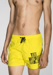 SWIMWEAR EMBROIDERY YELLOW